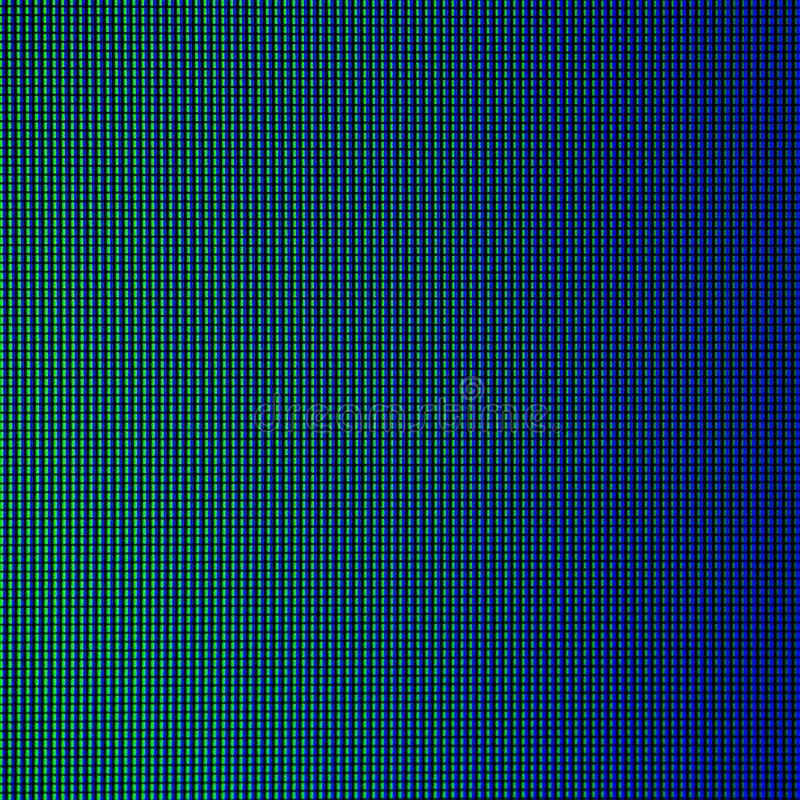 LED lights from computer LED monitor screen display panel for graphic website template. electricity or technology concept design.  vector illustration