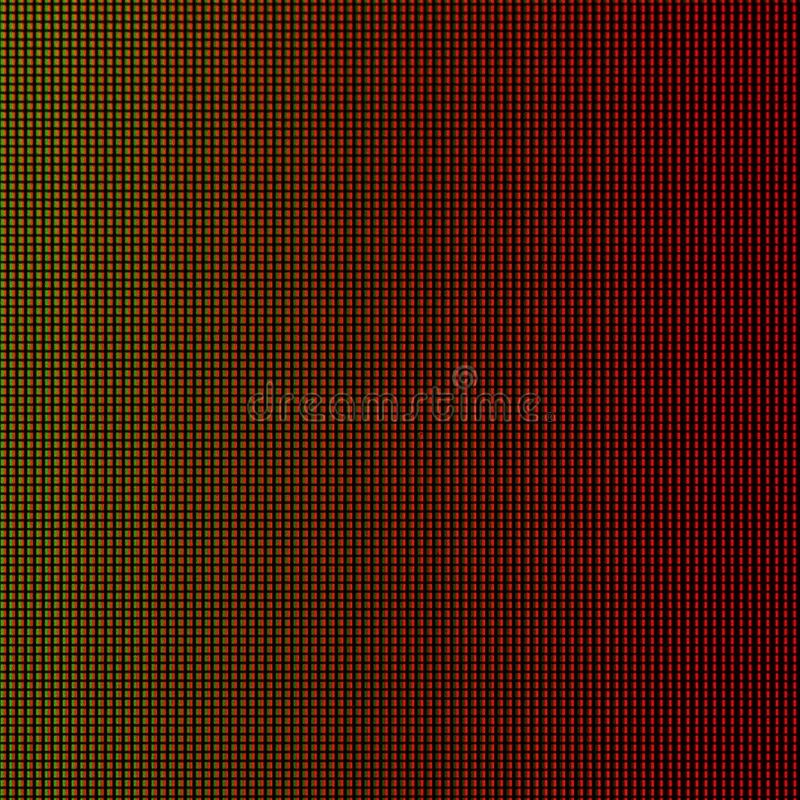 LED lights from LED computer monitor screen display panel for graphic website template. electricity or technology design.  vector illustration