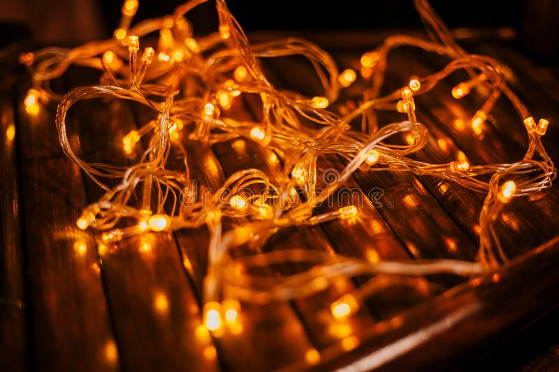 Led lights texture royalty free stock images