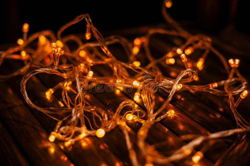 Led lights texture stock photography