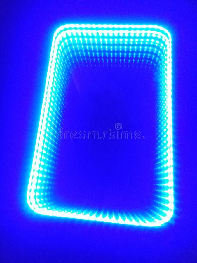 Led mirror on royalty free stock image