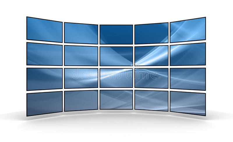 LED Panels royalty free stock photo