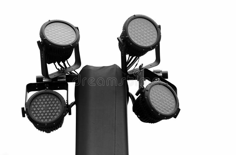 Led Par Stage Lights Royalty Free Stock Photo