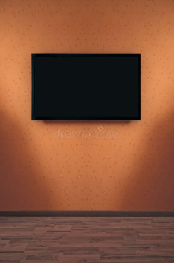 LED-Plasma Fernsehapparat stockfoto