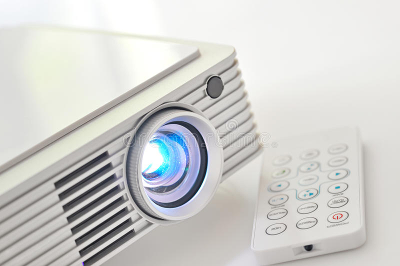 Led projector royalty free stock images