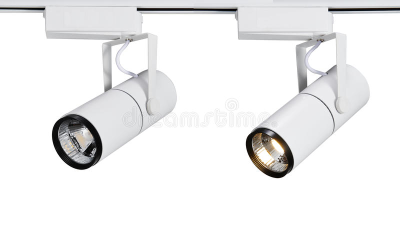 Led spot light or led track light stock image image of hope new type led spot lightusually used in fashion shopstorecommercial centerautomobile shopexhibition hallmuseumetc aloadofball Gallery