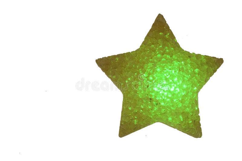 LED-Stern lizenzfreies stockbild