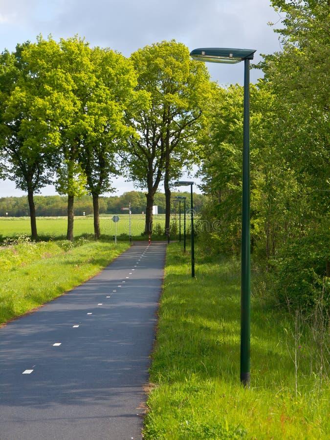 LED-Straßenlaterne lizenzfreie stockbilder