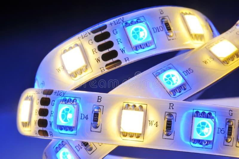 LED-stripe stock photography