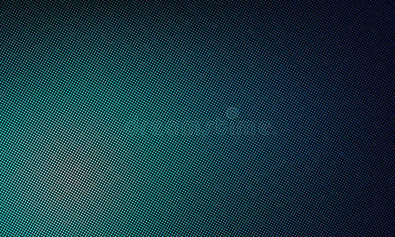 LED texture screen, digital video wall background. Vector blue LED TV display gradient pattern. LED texture screen, digital video wall background. Vector blue stock illustration