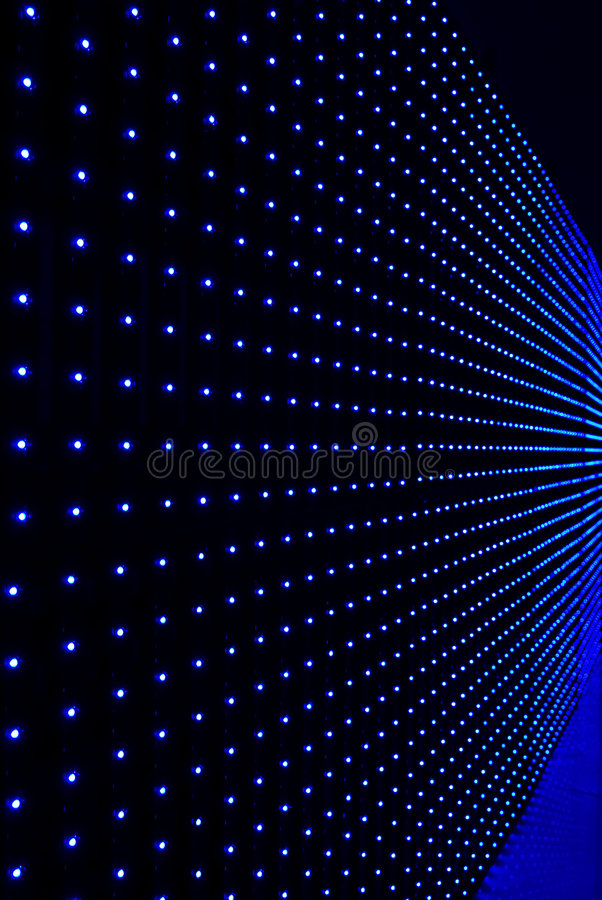LED wall background. The color LED wall background royalty free stock images