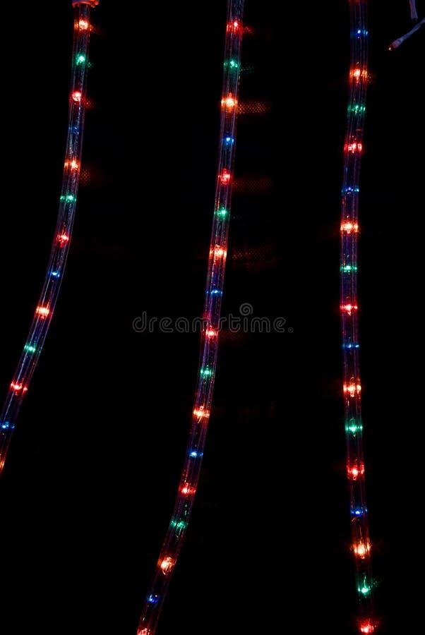 Free LED Xmas Lights. Stock Image - 11893541