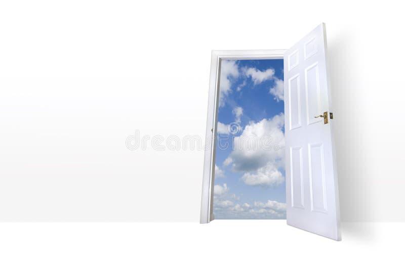 ledande skysomrar för dörr till arkivbilder
