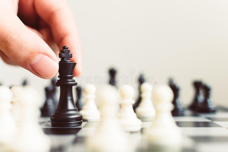 Ledande strategi för plan av den lyckade affärskonkurrensledaren royaltyfri bild