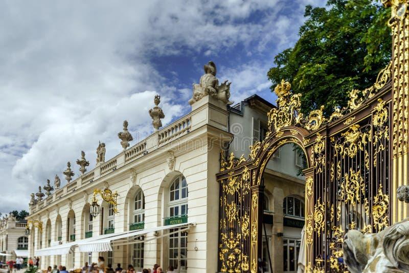 Ledare 31st Juli 2016: Nancy Frankrike: Touristic mitt av arkivfoton