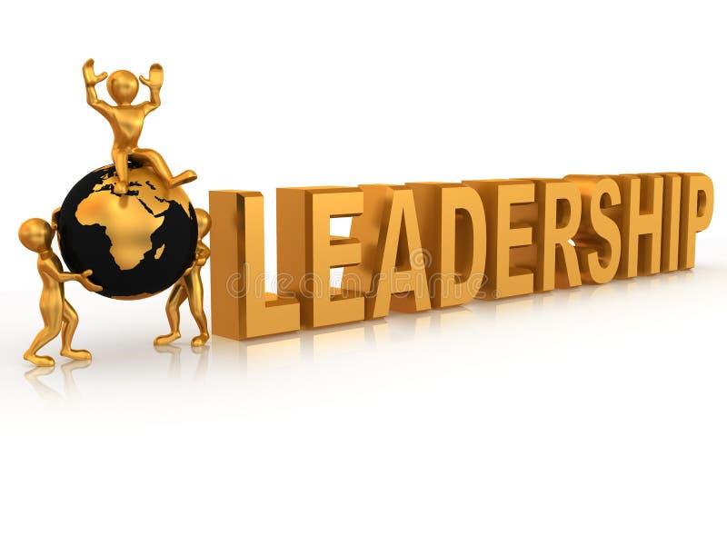 ledarskap royaltyfri illustrationer