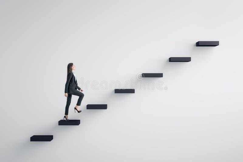 Ledarskap och begrepp för karriärutveckling vektor illustrationer
