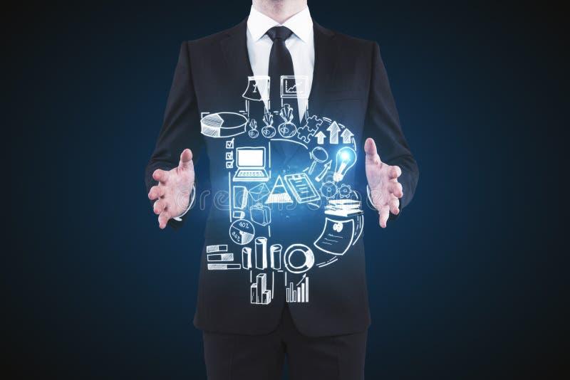 Ledarskap och e-kommers begrepp vektor illustrationer