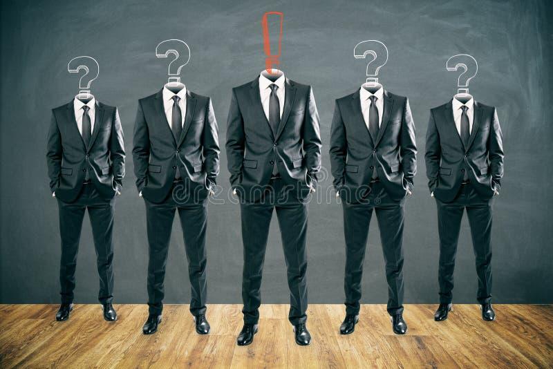 Ledarskap och teamworkbegrepp royaltyfri illustrationer