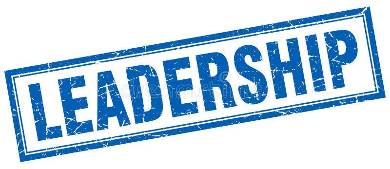 Ledarskapstämpel stock illustrationer