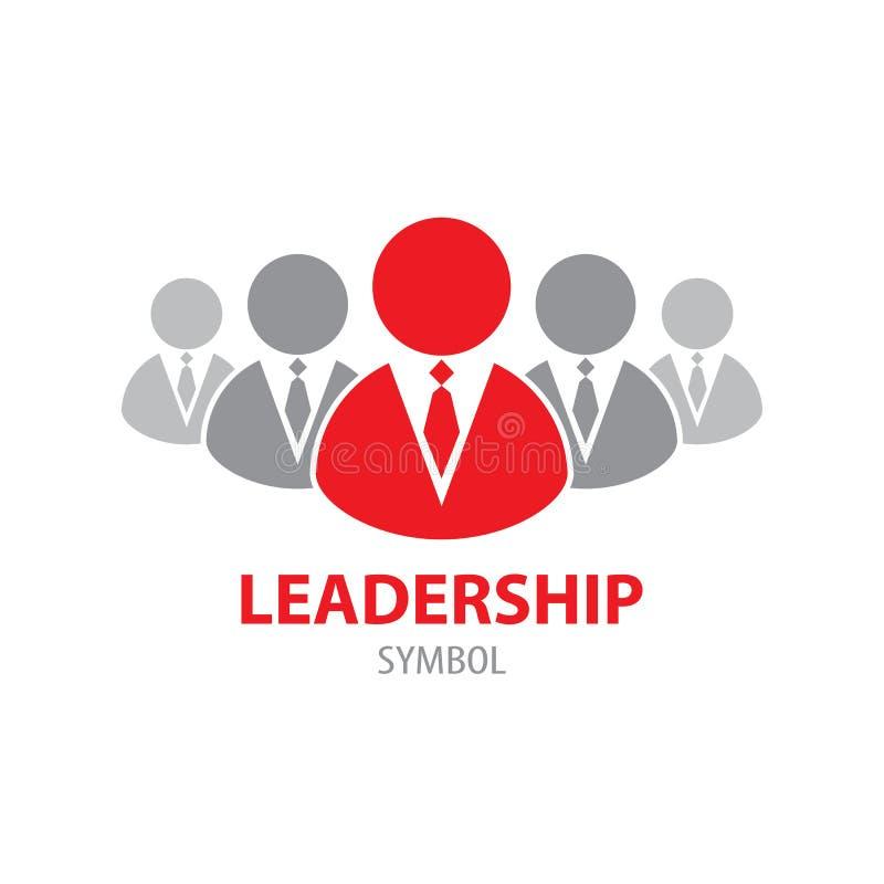 Ledarskapsymbolsymbol royaltyfri illustrationer