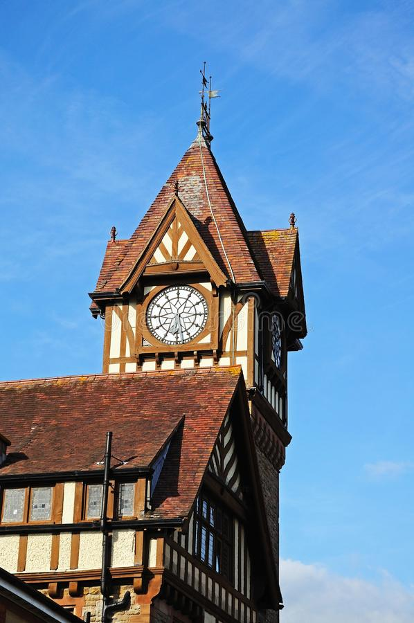 Free Ledbury Library And Clock Tower. Stock Photography - 41989642