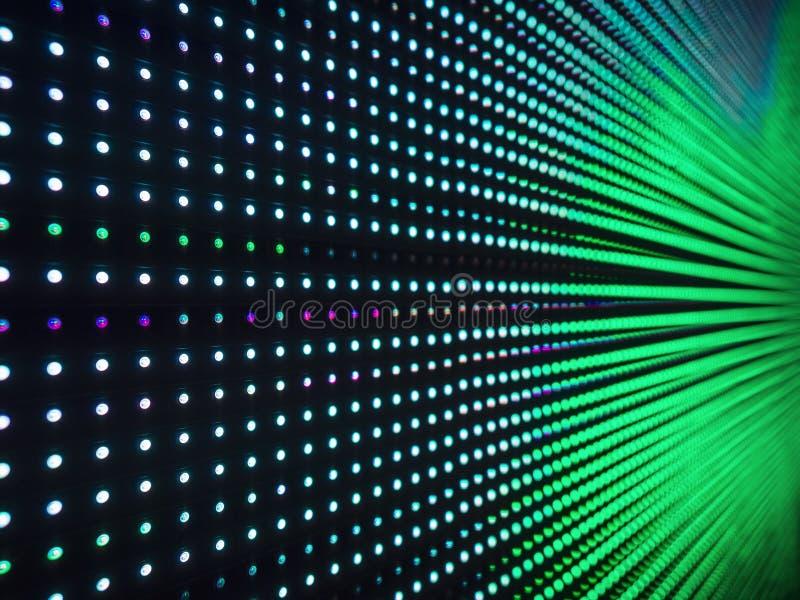 Ledd ljus digital bakgrund för abstrakt begrepp för modellteknologisystem arkivbild