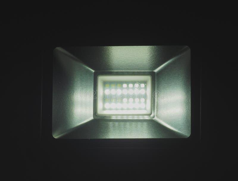 LEDD ljus projektor royaltyfria bilder