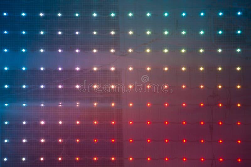 LEDDE ljus arkivfoton