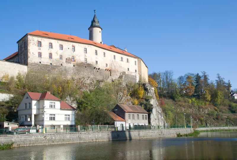 Ledec nad Sazavou, repubblica Ceca fotografia stock libera da diritti