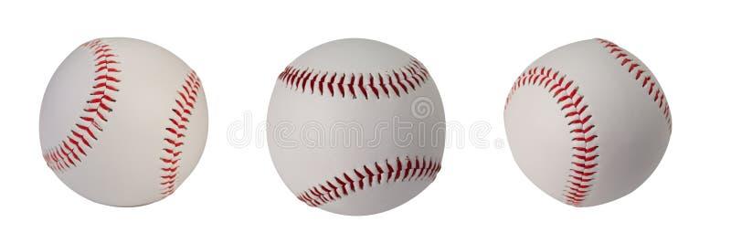 Lederbandset van honkbal royalty-vrije stock afbeelding