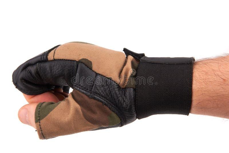 Lederhandschuhe lizenzfreie stockfotos