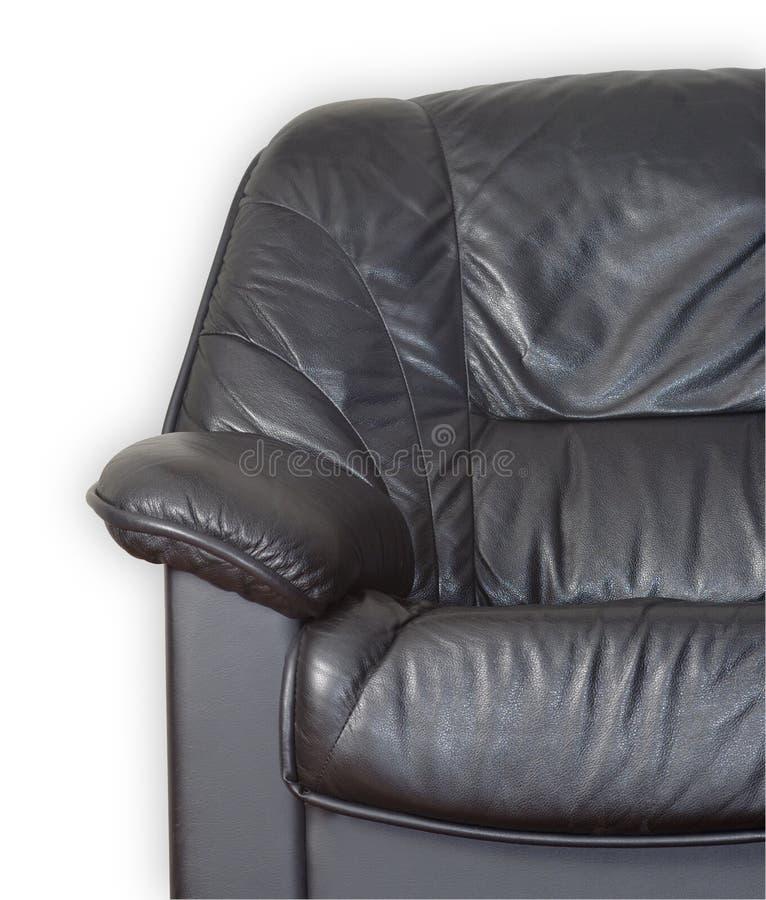 Lederne Couch stockfotografie
