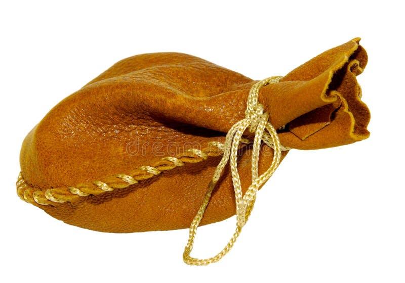 Lederne Tasche stockbild