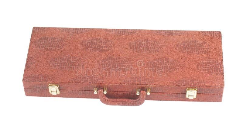 Download Lederner Koffer stockfoto. Bild von geschäft, toolbox - 9087882