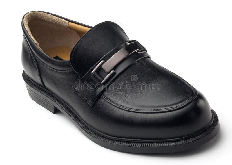 Lederner Schuh stockfotos