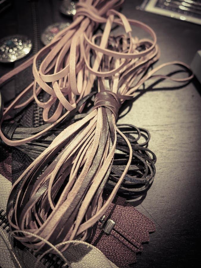 Ledernes Seil lizenzfreies stockbild
