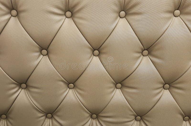 Ledernes Sofa des Musters stockbilder