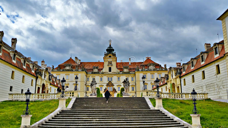 Lednice Valtice Chateaux royalty free stock images