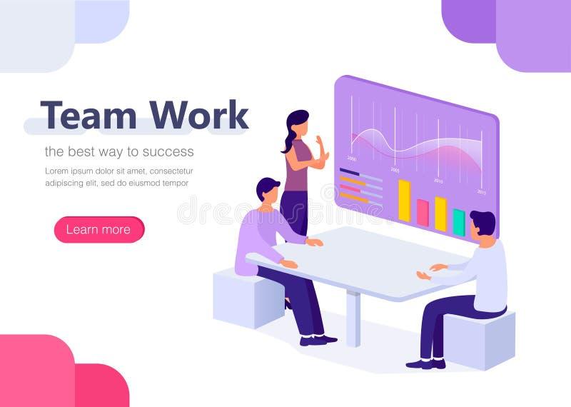 Ledning affär, workflowlägen  vektor illustrationer