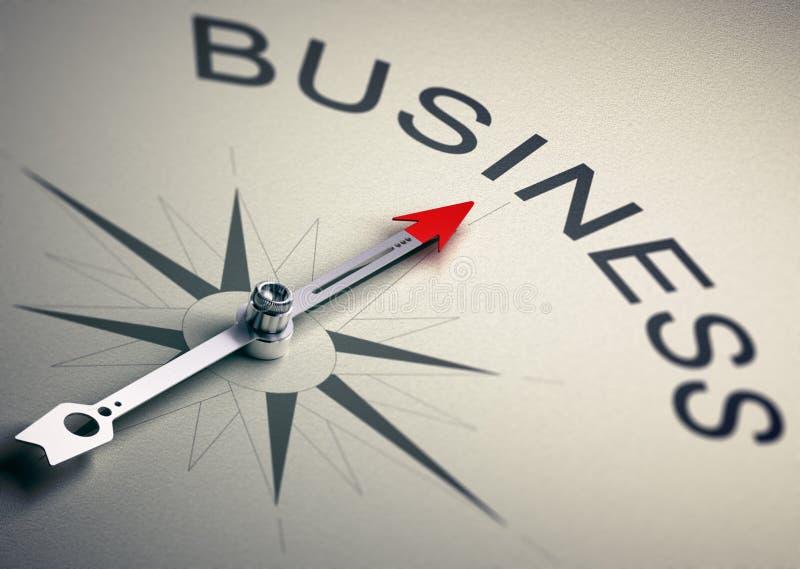 Ledning för strategi för konsultera för affär royaltyfri illustrationer
