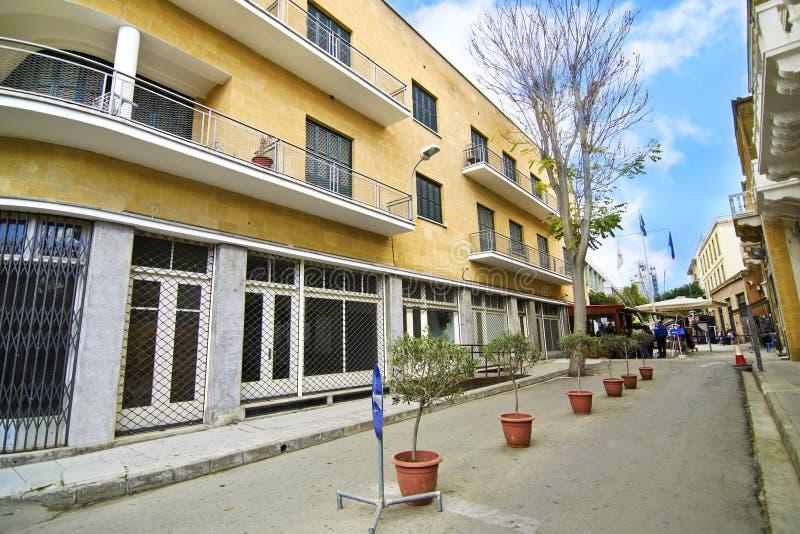 Ledras street at Nicosia/Lefkosia Cyprus royalty free stock image