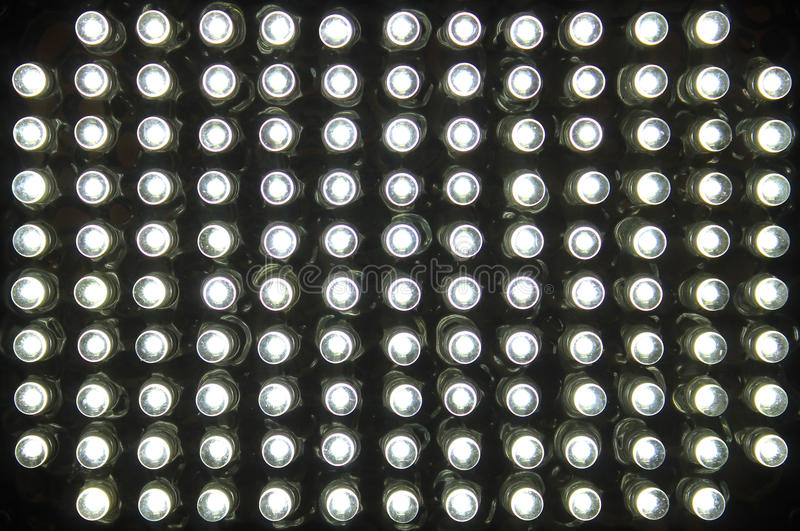 Leds. Image of a led lamp stock images