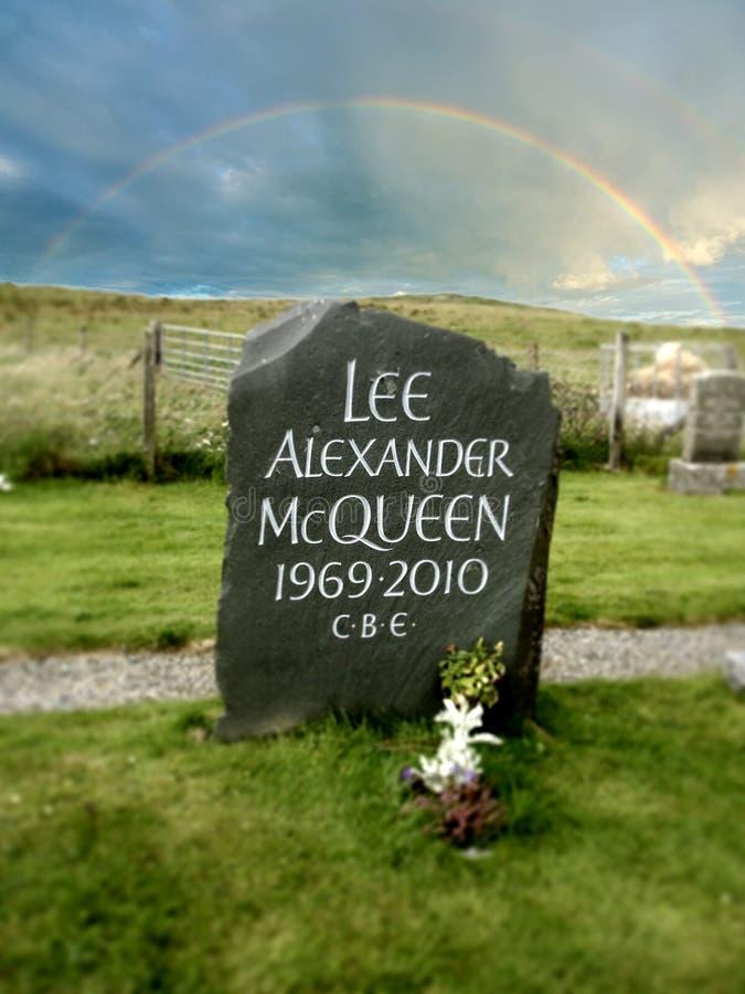 Lee Alexander McQueen lizenzfreie stockbilder