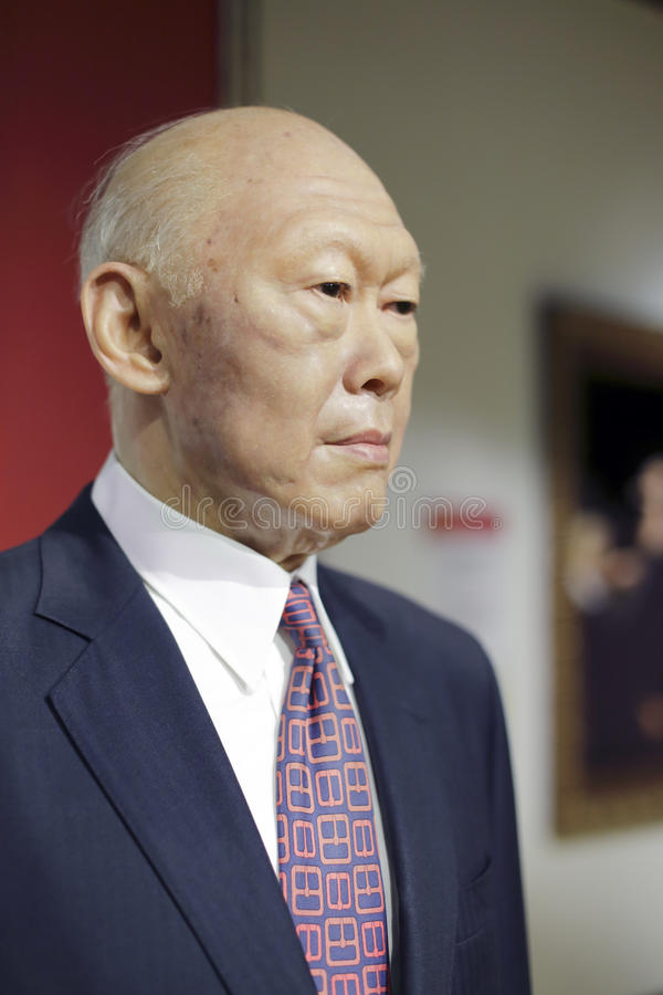 Lee Kuan Yew fotografia stock libera da diritti