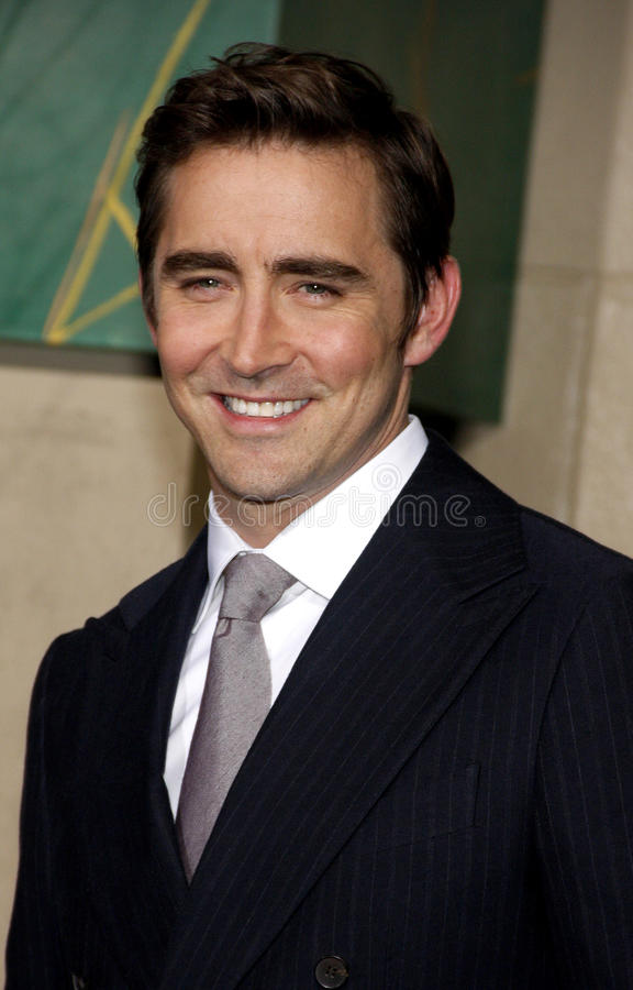 Lee Pace image stock