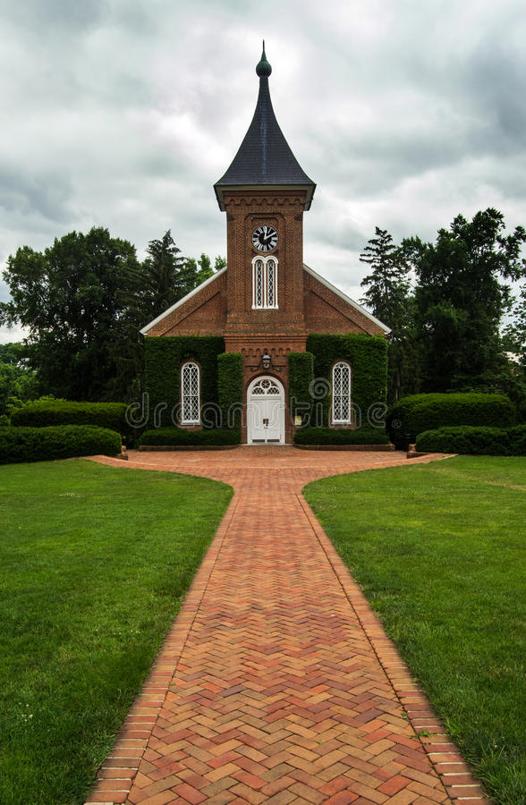 Lee's Chapel and Museum stock image