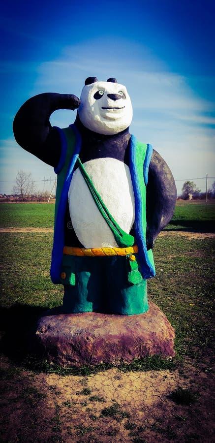 Lee Shan ( eenvoudig genoemd geworden die Lee, vroeger als vader PoE en Panda dad) wordt bekend; is een reuzepanda en een bio royalty-vrije stock foto
