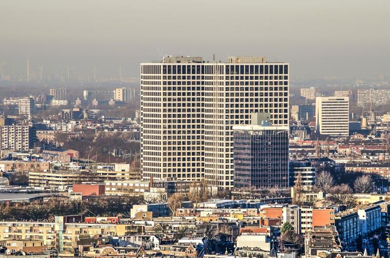 Lee Towers in Rotterdam lizenzfreie stockfotografie
