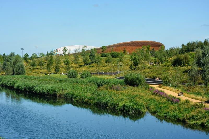 Lee Valley Velodrome Park Stratford, Londres imagen de archivo